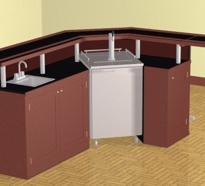 Home bar plans easy designs to build your own bar wet bar basement ideas pinterest bar - Corner wet bar designs ...