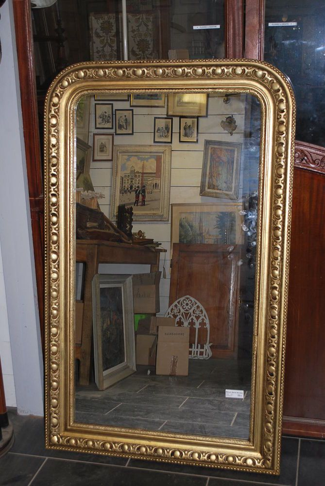 ancien miroir dore miroir dore