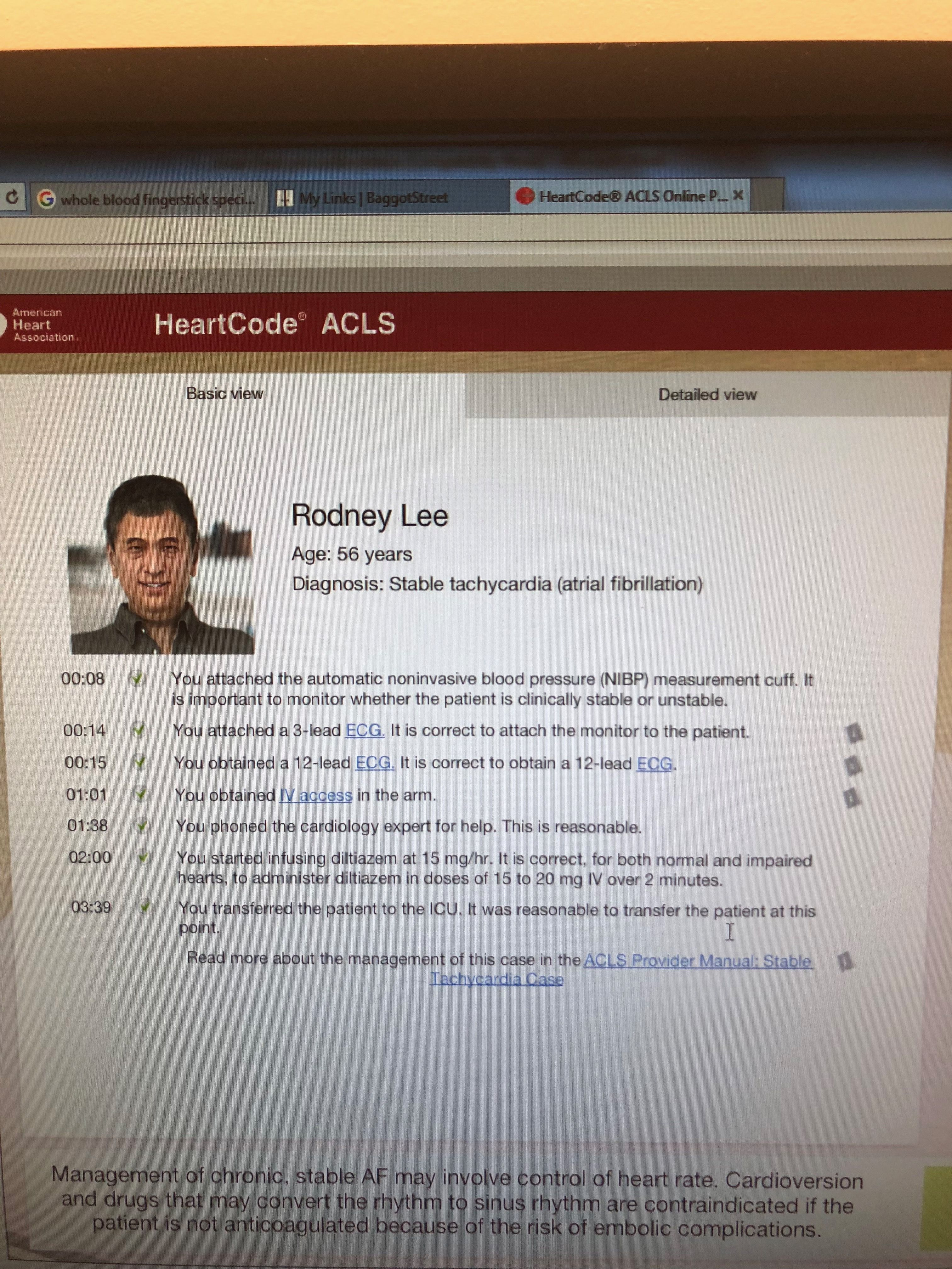Acls Rodney Lee Acls Pinterest Respiratory Therapy
