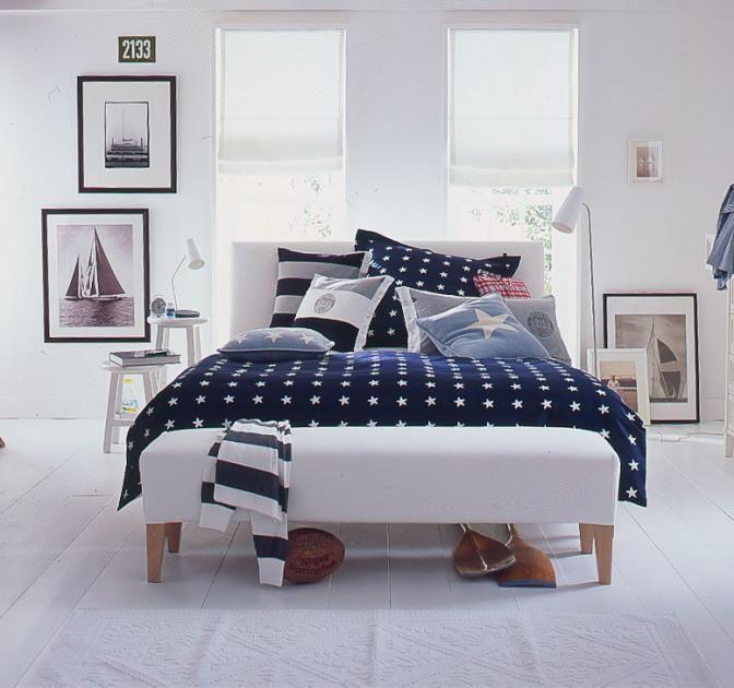charming einfache dekoration und mobel das schlafzimmer mit schoenen accessoires umgestalten #4: Maritimer Einrichtungsstil - Möbel wie am Meer - [SCHÖNER WOHNEN]