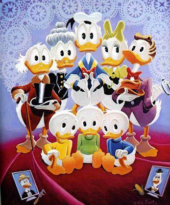 Carl barks duck family portrait duck family disney wikipedia