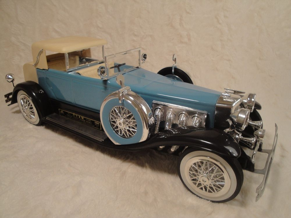 Jim Beam Collectible 1934 Lt Blue Duesenberg Model J Car