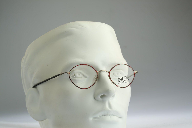 Sisley SLY 312-40M, Vintage square eyeglasses, 90s mens & women ...