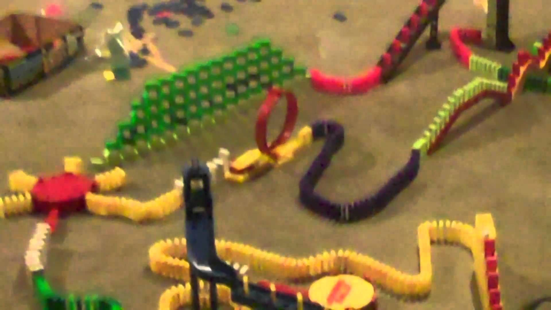 Domino Rally Dominos And Marble Runs Pinterest - Video dominoes falling reverse simply mesmerizing