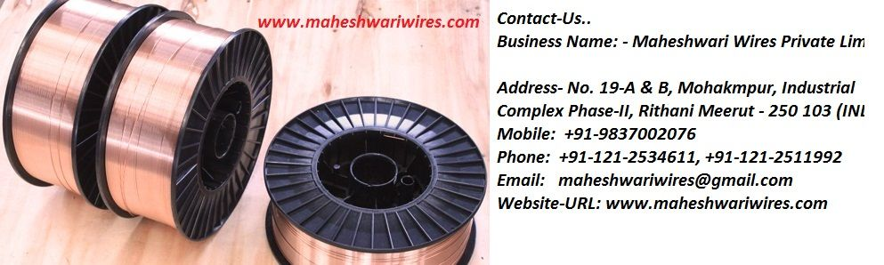 Company Incorporated with a vision to manufacture world class E.D.M wire in INDIA with best technology. We adopted world's best technology from Japan for E.D.M wire using Japanese lubricants, dies and other consumable to manufacture world class E.D.M wire.www.maheshwariwires.com  Contact-Us..  Business Name: - Maheshwari Wires Private Limited  Address- No. 19-A & B, Mohakmpur, Industrial Complex Phase-II, Rithani Meerut - 250 103 (INDIA) Mobile:  +91-9837002076 Phone:  +91-121-2534611…