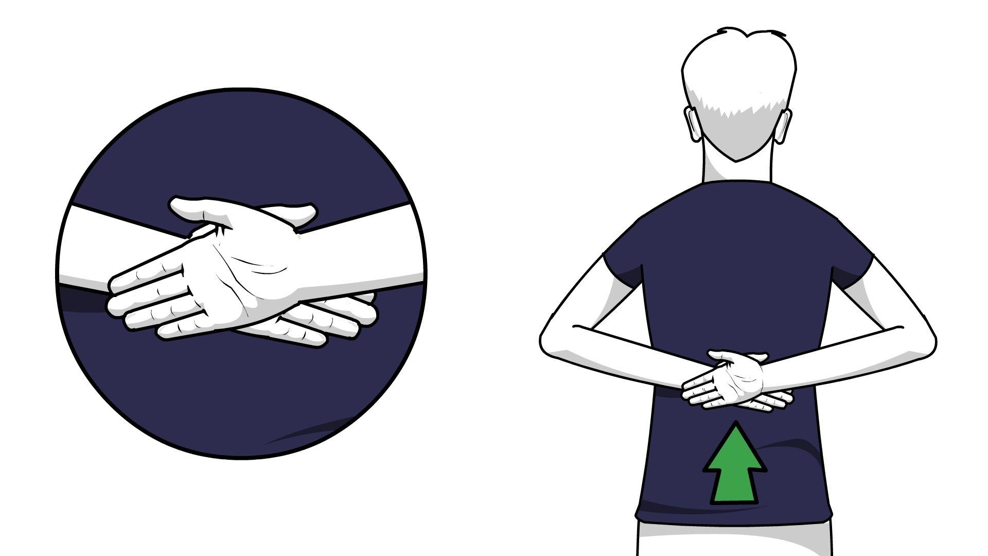 Nadat je lange tijd gezeten of gestaan hebt kun je last van rugpijn ...