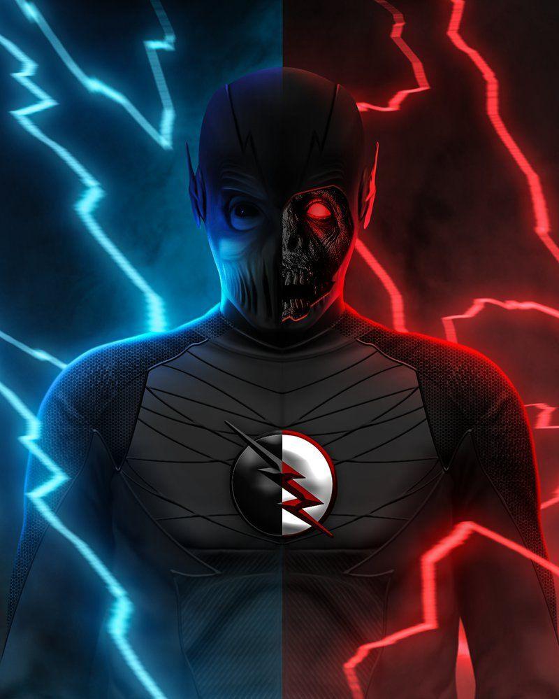 ZoomBlack Flash by LitgraphiX  Godzilla  Supergirl
