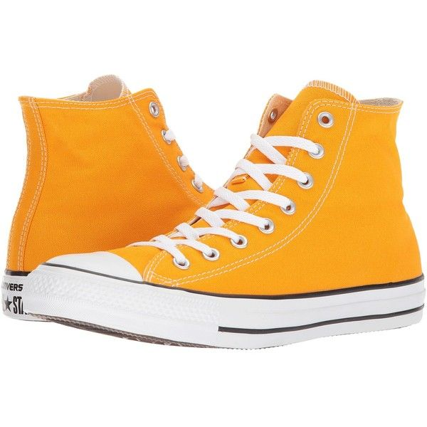 8e514a43de95 Converse Chuck Taylor(r) All Star(r) Seasonal Color Hi (Orange Ray)...  ( 60) ❤ liked on Polyvore featuring shoes