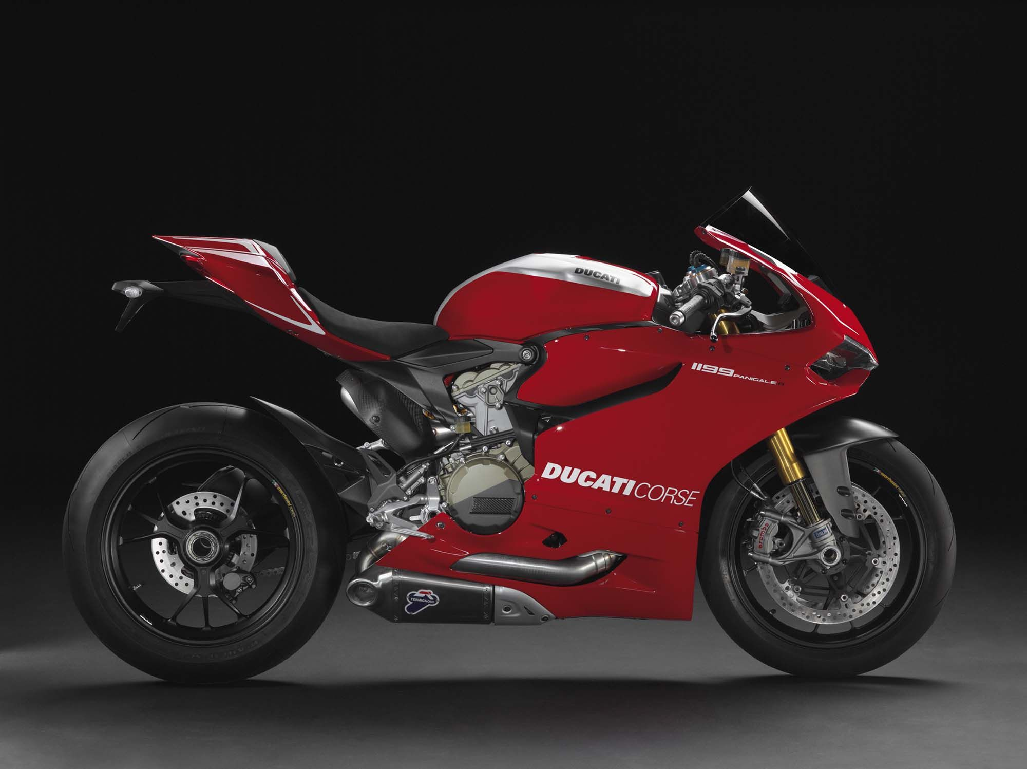 2013 Ducati 1199 Panigale R 201hp With Race Exhaust