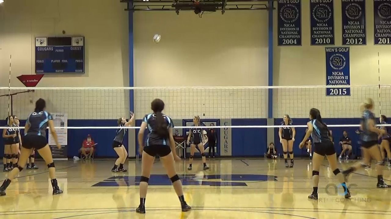 Push Players To Compete With 10 Foot Drill The Art Of Coaching Volleyball Coaching Volleyball Volleyball Drills Volleyball Training