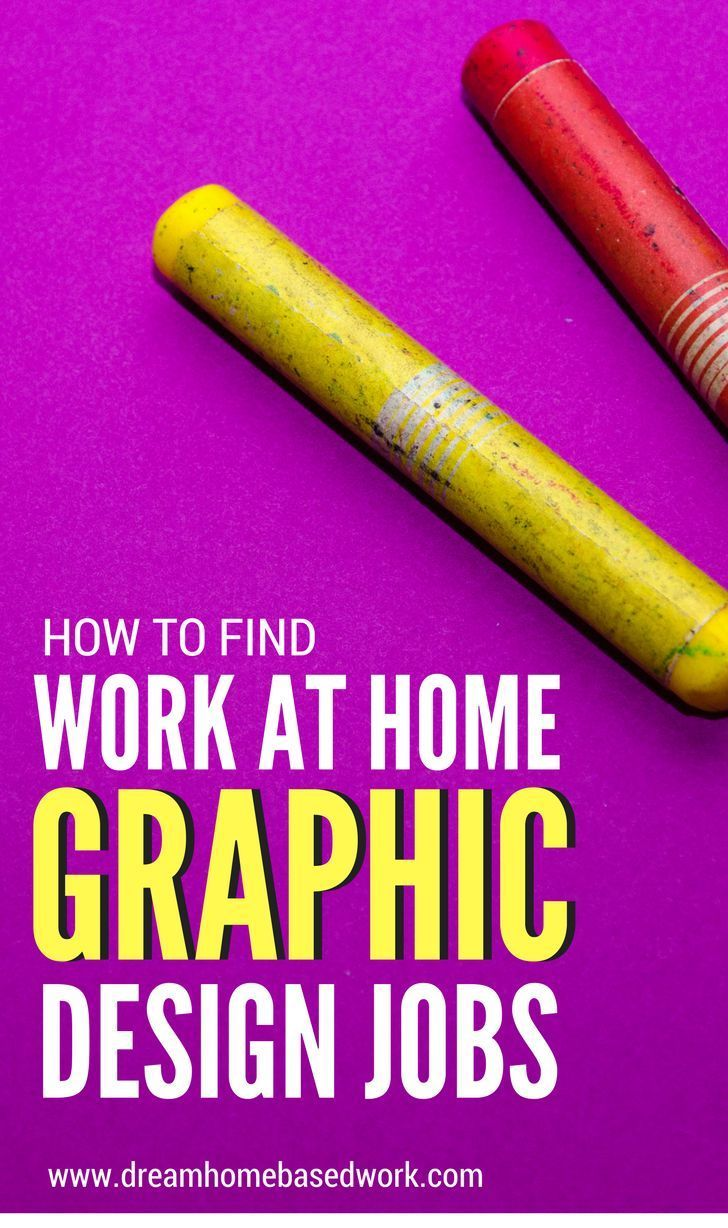 Wondering Where To Find Work at Home Graphic Design Jobs | Work from ...