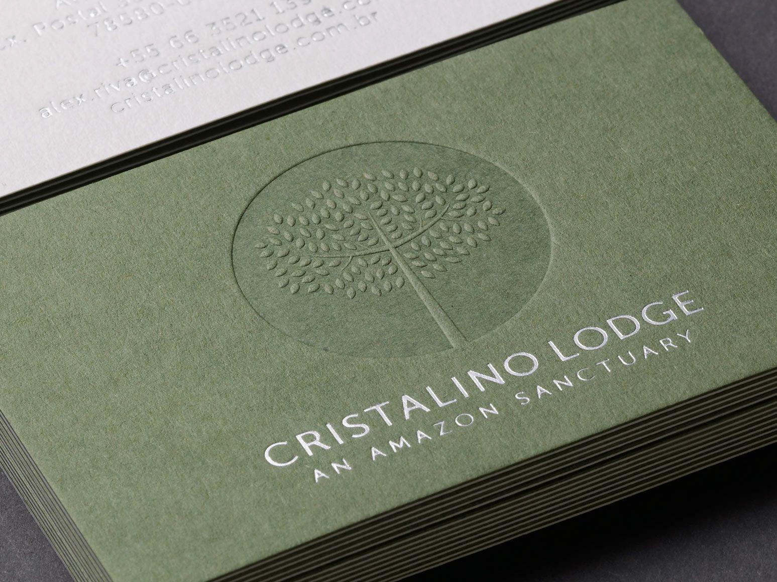 Stilvoll Geprägt Und Prägung Visitenkarten Mit Karte Schöne