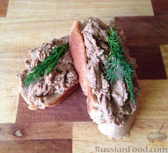 Рецепт Печеночный паштет, cостав: печень куриная, морковь ...