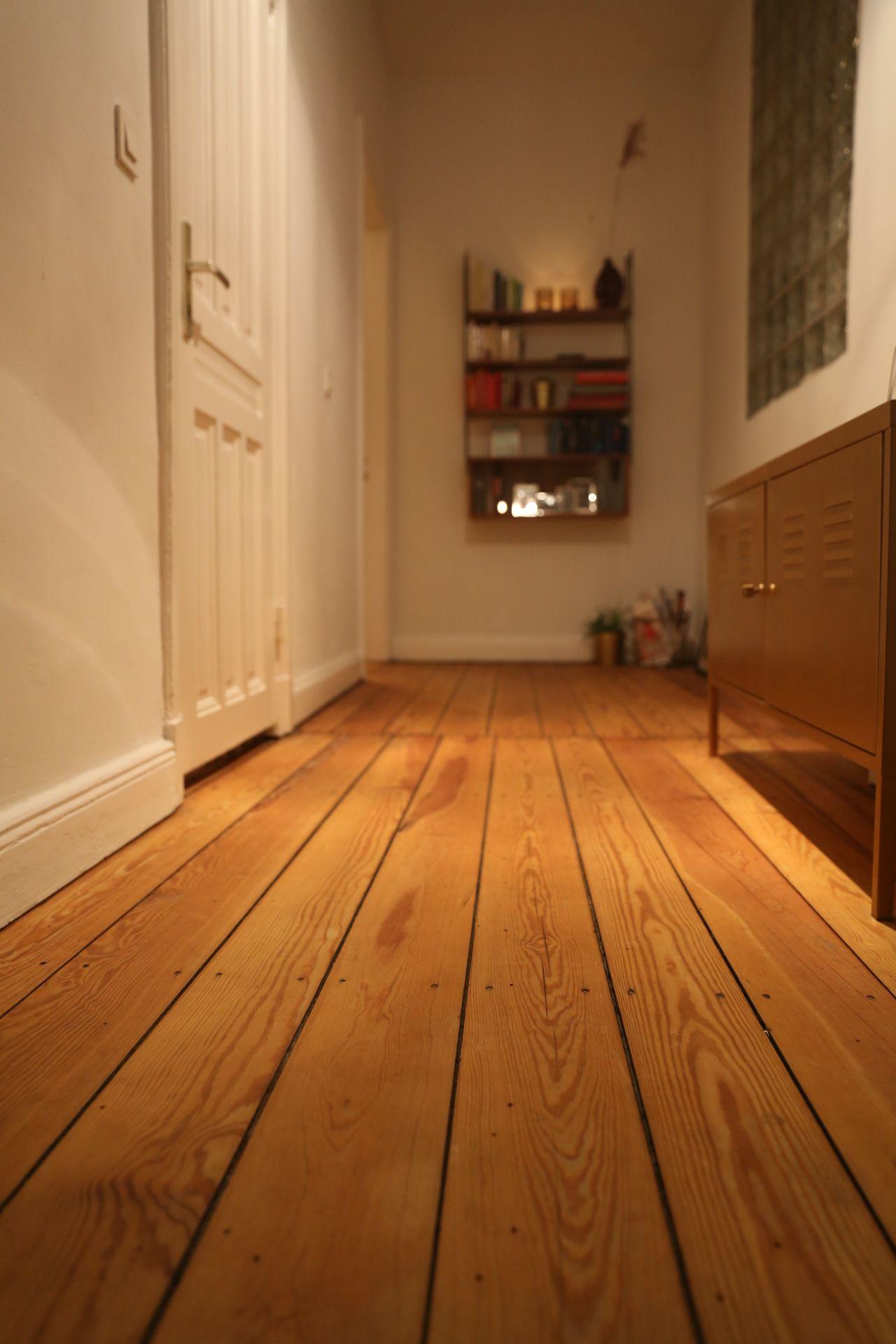 Alter Dielenboden #altbau #dielen #flooring #floor #hamburg