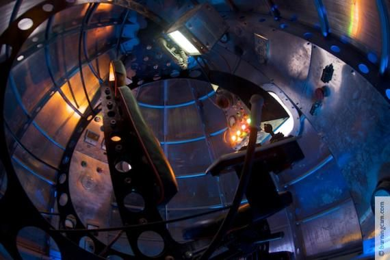 Image of Raygun Gothic Rocket Ship interior