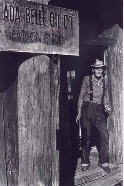 My great grandfather was a foreman for a Southeast Texas oil field (1954?).