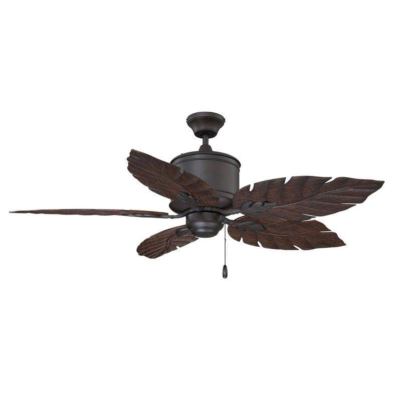 52 Tibuh Punched Metal Crystal 5 Blade Ceiling Fan With Remote Ceiling Fan Ceiling Outdoor Ceiling Fans
