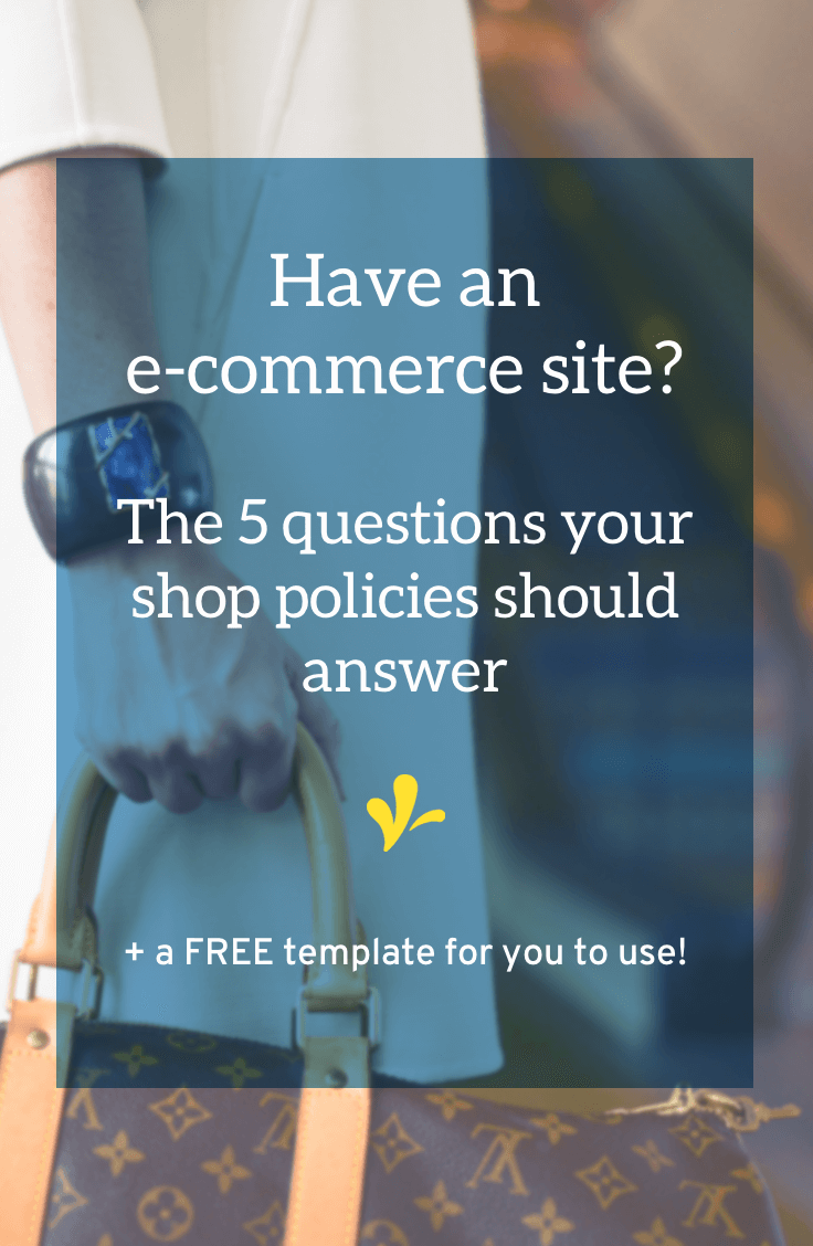 Why You Need Shop Policiesbefore You Make Your First Sale - Online store policies template