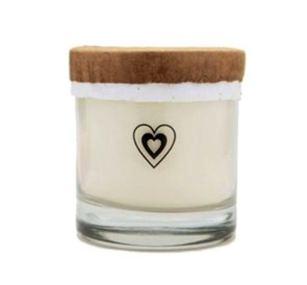 Hip & Hippie Heart Love Unscented Planet Loving Soy Candle