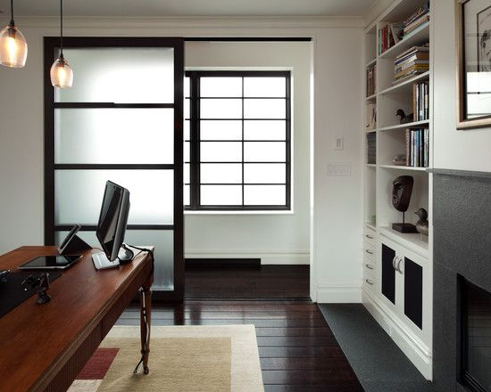Recommended   Sliding Door Option A With Translucent Panels   Eastern  Influence With With A Modern