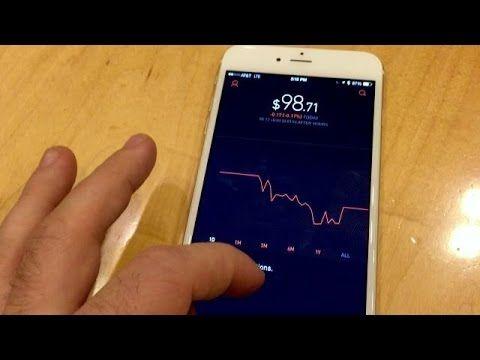 Robinhood Stock Trading App Medical, 3d