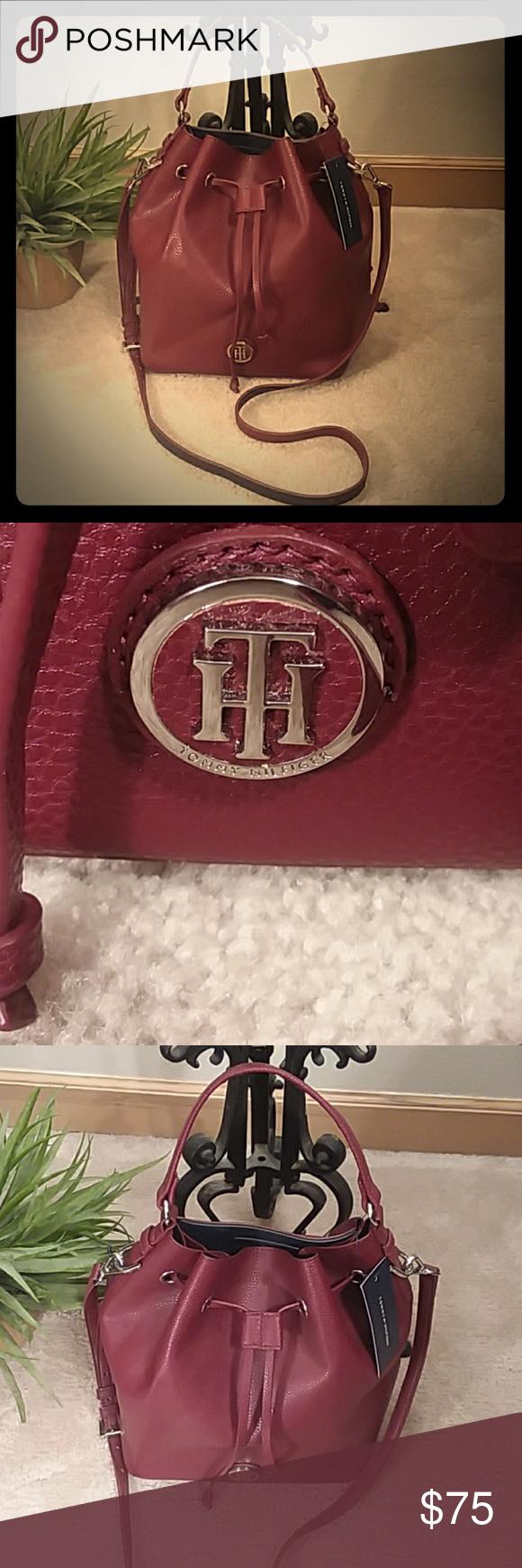 fe091a716 TOMMY HILFIGER Brand new with tags Tommy Hilfiger Mara drawstring ...