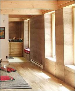rammed earth. yes.