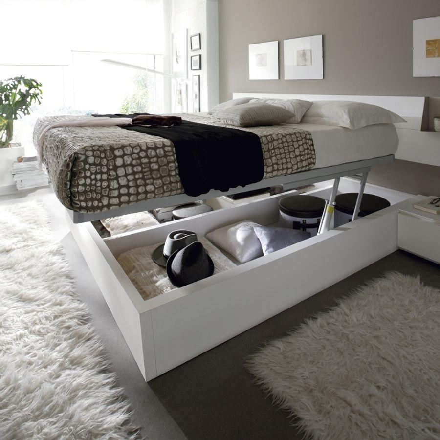 Camas con espacio de almacenaje para habitaciones pequeñas. Ideas ...