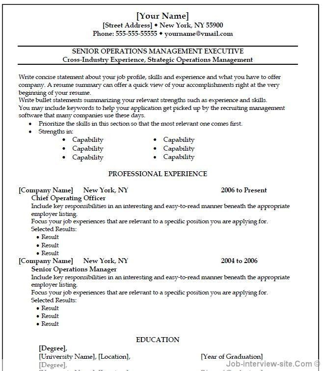 CV for teachers Most continues present an exceptionally bland - word resume format