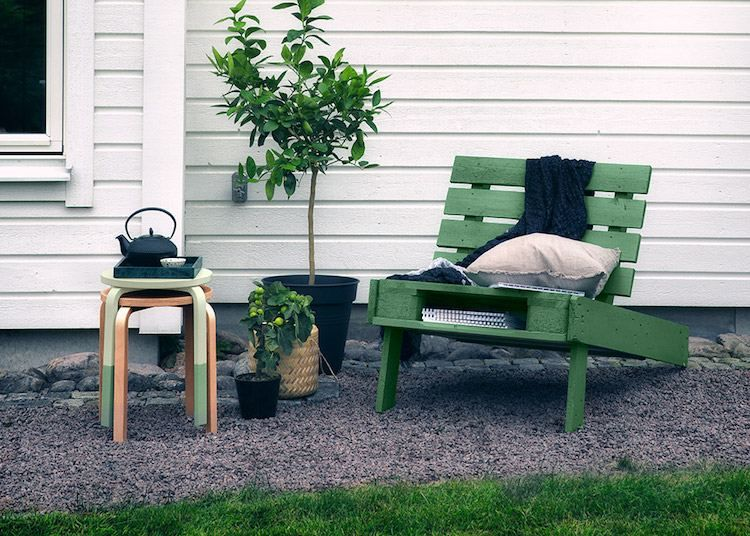 Salon De Jardin Tout Temps | Salon De Jardin En Palette Une Solution Ecolo Offrant De Nombreuses