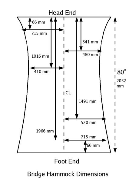 bridge hammock instructions camping