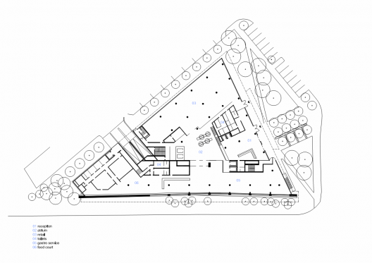 Triangle architecture plan 1329729885 ground floor plan for Triangle concept architecture