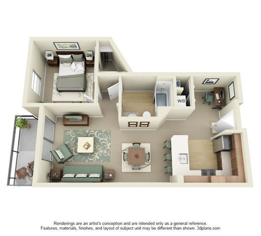 Studio 1 2 and 3 bedroom apartments in los angeles - 2 bedroom apartments los angeles ...