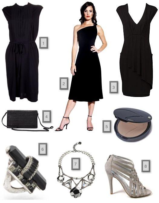 Accessories For Black Evening Dress | coktail dresses | Pinterest ...