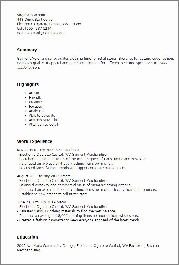 23 resume summary examples for retail in 2020