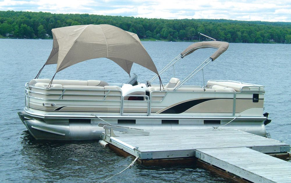 Details About Pontoon Boat Gazebo Sun Shade Cover Uv