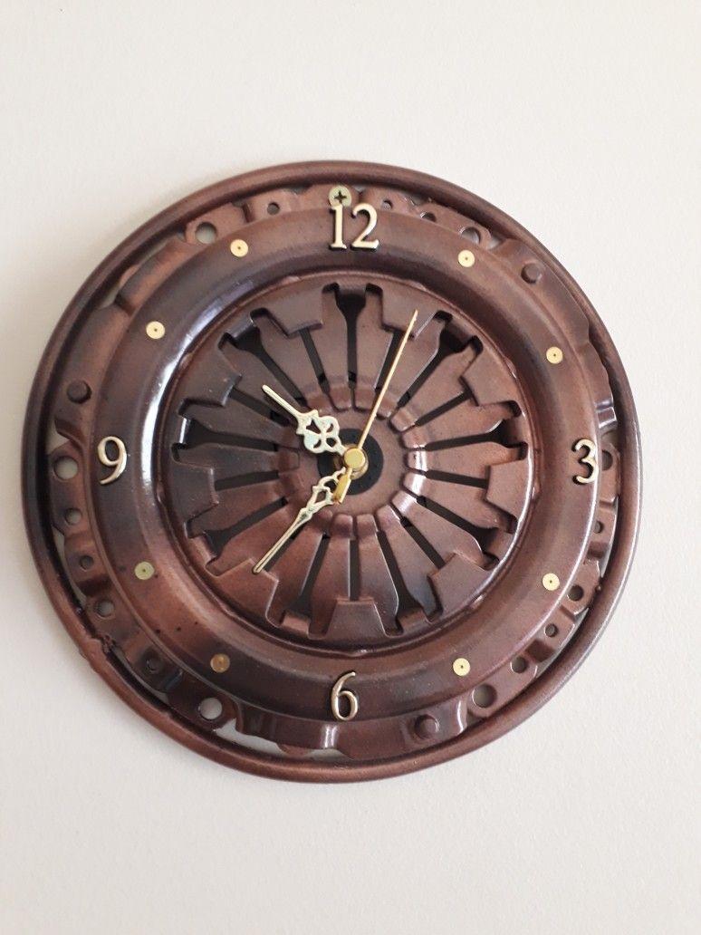 7ec01096f85 Relógio artesanal de parede