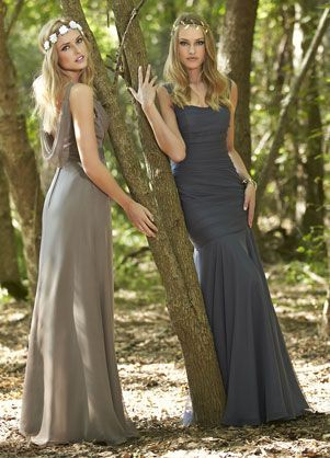 Impression Bridesmaids: 20216..dress on the right. very pretty ...