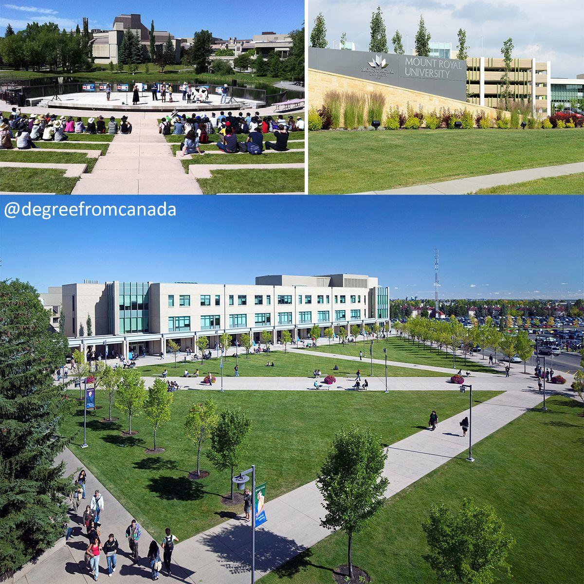 Mount Royal University Mru Is A Public University In Calgary