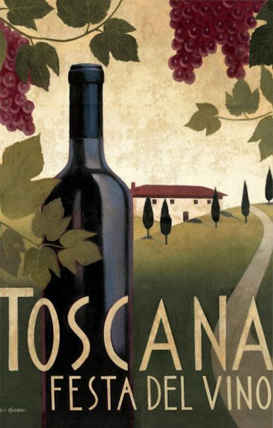 Wine festival poster by Marco Fabiano
