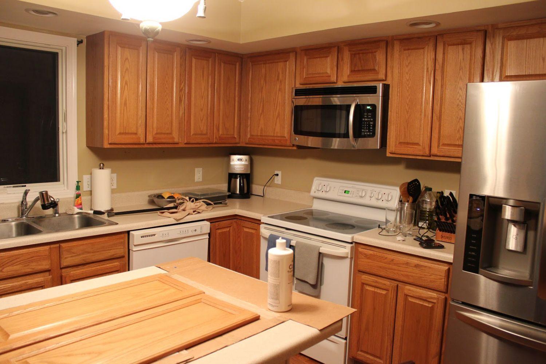 Kitchen Paint Colors with Light Oak Kitchen