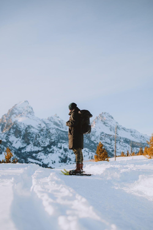 Photo of Snowshoeing Taggart Lake Trail – Grand Teton National Park