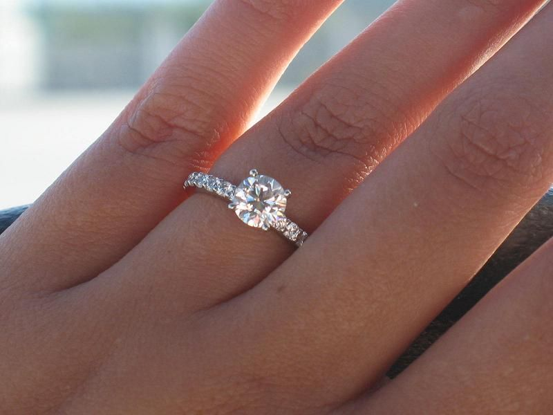 Under 1ct Diamonds By Sweetpink Perfect Engagement Ring 1 Carat Engagement Rings Wedding Rings Engagement