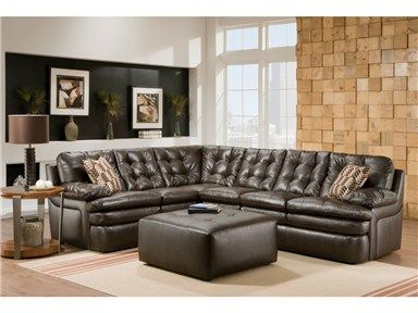 Shop For Albany Capri Dark Brown Leather Sectional, And Other Living Room  Sectionals At Woodstock Furniture In Acworth And Hiram Georgia.