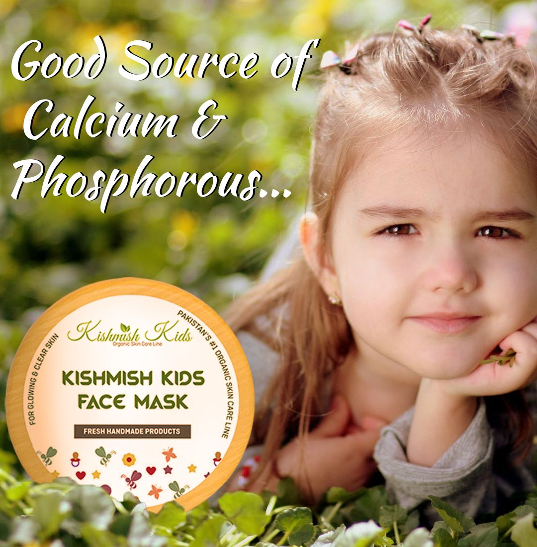Kishmish Kids Face Mask Skin Cleanser Products Glowing Skin Face Mask Skin Calming