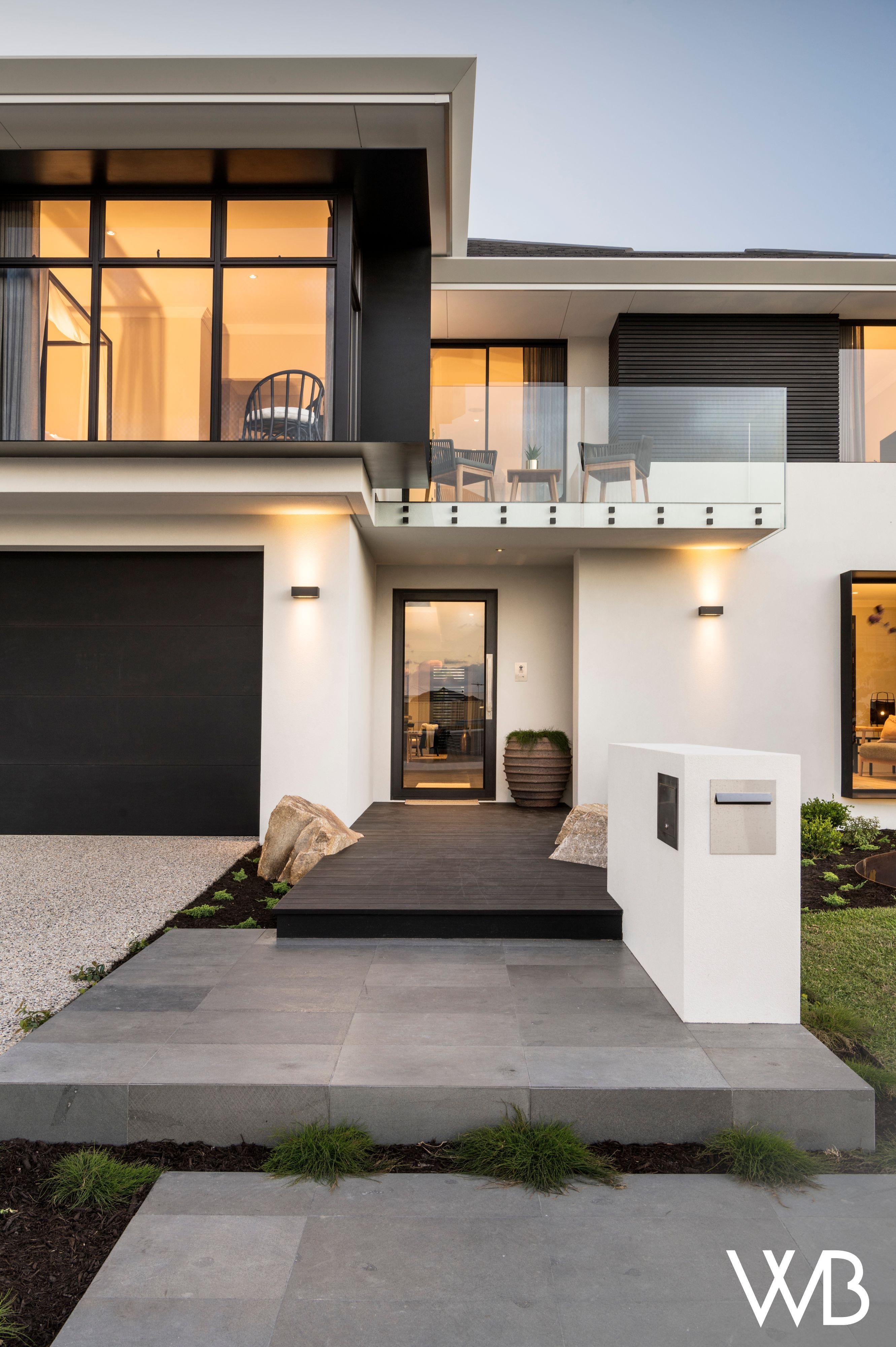 THE KURO | Japanese modern house, Japanese style house ...