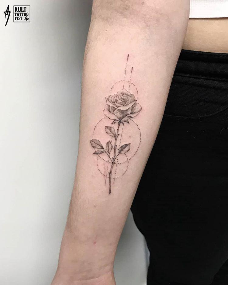 10+ Best Single rose tattoos ideas | rose tattoos, tattoos, small...
