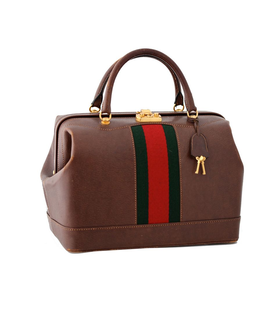 Gucci Vintage Doctor's Bag. | Bag Laydee | Bags, Gucci bag ...