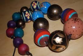 """Résultat de recherche d'images pour """"colliers colorés grosses perles"""""""