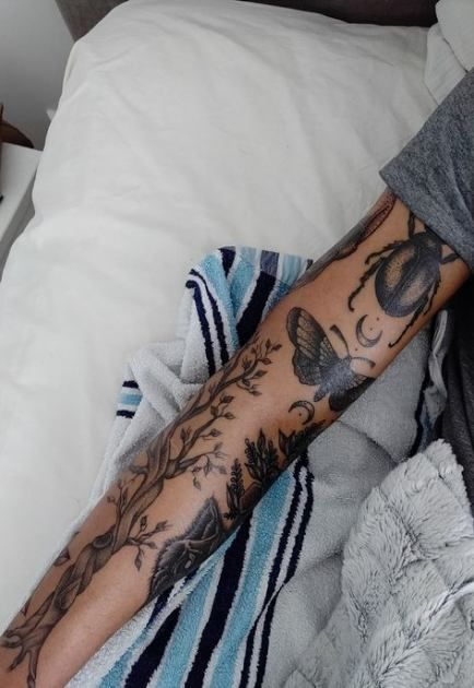 Photo of Beste Tattoo Arm Mädchen Ärmel Inspiration schwarz 24+ Ideen